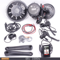 Wholesale 48V W Bafang Mid Drive Motor Center Motor mit Bafang Kit BBSHD Latest Colorful Display TFT Screen Colourful