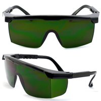 Wholesale E Light Protective Glasses For Metals Safety Goggles CE Nylon Green Radiation Protection Professional Welding Goggles