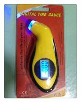 air pressure manometer - DHL TPMS Tools Digital LCD Car Tire Tyre Air Pressure Gauge Meter Manometer Barometers Tester Tool For Auto Car Motorcycle