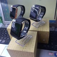 achat en gros de messages de la carte sim-GT08 Montres Smart Bluetooth Watch Smart gt08 Bracelet Bluetooth Wristband Avec Carte SIM Push Message Bluetooth Connectivité Téléphone Android
