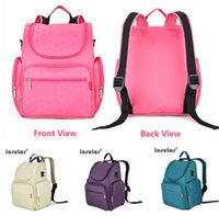 Wholesale NEW multifunction nylon baby stroller bag Mummy diaper bag fashion mother backpack diaper bags waterproof handbag