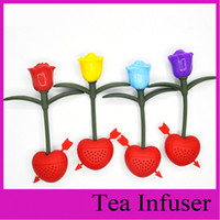 arrow cast - Silicone Rose Design Tea Leaf Strainer Have you in my heart Herbal Spice Infuser Cupid s arrow Tea Infuser Teacup Teapot Filter