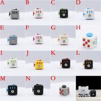 Cheap Big Kids Fidget Cube Best Select color(A-I) PVC Toys