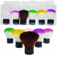 Wholesale Nail tools Brush For Acrylic UV Gel Nail Art Dust Clean Brush Manicure Pedicure Tool