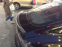 Wholesale 13 TESLA MODEL S GLOSSY CARBON FIBER OE FACTORY STYLE TRUNK LID SPOILER