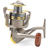Wholesale Ultra thin GS1000 Fishing Reel Ball Bearings Fishing Spinning Reel Foldable Exchangable Reel Handle For Fishing IS0350