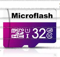 Wholesale DHL shipping GB GB GB GB GB Microflash micro sd card Class10 Smartphone TF card Real capacity Storage card memory card MB S