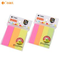 Wholesale Post bar pad bright fluorescent color high quality New arrival