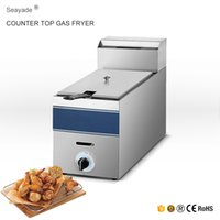 Wholesale LPG Gas Deep Fryer with Temperature Control XGF