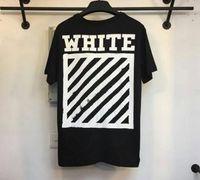 arrow m - 16SS off white brushed diagonals short sleeve T shirt off white c o virgil abolh back white arrow Tee
