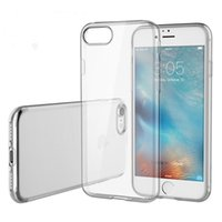 Wholesale For iPhone7 Clear Case for iPhone iPhone Plus for iPhone s s Plus Gel Soft TPU Cover with OPP Bag up