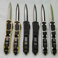 Wholesale microtech Sword ant models dual action D E blade Hunting Folding Pocket Knife Survival Knife Xmas gift for men