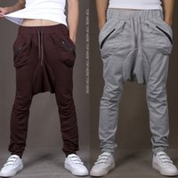 Polyester,Cotton baggy harem pants - Men s Cotton Harem Pants Joggers Sweatpants For Men Wear Baggy Trousers Men Hip Hop Pants Brand Clothing