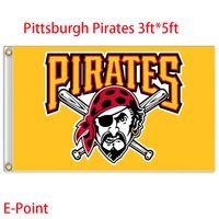 Wholesale Pittsburgh Pirates USA Major League Baseball MLB Polyester Flag ft ft cm cm