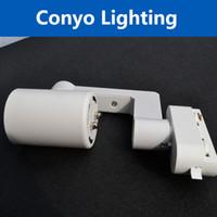 Wholesale 10pcs E27 track light easy change the light source shop decoration light