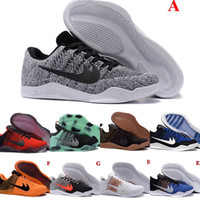 arrival boots quality - High Quality New Kobe XI Elite Low Basketball Shoes Men Original Arrival Sneakers Cheap Retro Weaving Kobe Boots discount