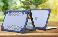 Wholesale New Arrival Super slim TPU PC Transparent protect shockproof case for apple air11 air13 for macbook retina12