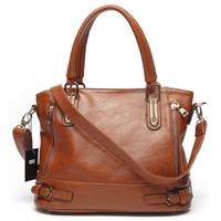 Wholesale Alivictory Brand Women Leather Shoulder Bags Ladies Handbag Briefcase Tote Bags Designer Purses Messenger Bag for Women Shopping Bag Satchel