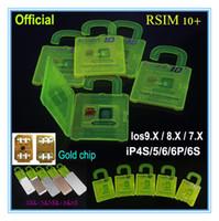 apple shipment - quick Shipment R SIM R SIM RSIM Rsim10 Unlock Card for iphone s S S ios X G G CDMA Sprint AU Softbank s direct use