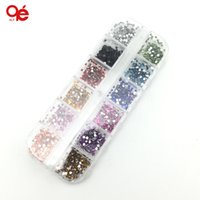 Wholesale mm colors round acrylic rhinestone perfect for D nail srt decoration