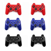 PS - Six Axis PS3 Game Controller PS Gamepad Controller Wireless Bluetooth Joystick Game Controller For Sony Playstation Pieces DHL Free