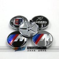 Wholesale OEM for BMW M ALPINA HAMANN BMW MM automobile hub hub modification logo center cover