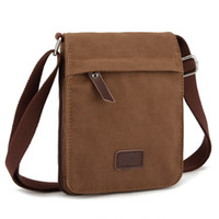 bicycle print fabric - 2016 new men and women canvas Mini Shoulder Bag sports bicycle cross small travel bag factory direct