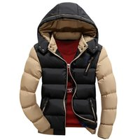 Wholesale New Brand Winter Jacket Men Warm Down Jacket Casual Parka Men Padded Winter Jacket Casual Handsome Winter Coat Men