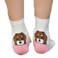 Cheap Women Ladies Sock Slippers Best Cotton spandex cartoon Ankle Socks For Women Girls Socks