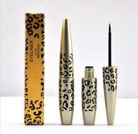 beauty leopard - Beauty Make up Cosmetic Black Waterproof Eyeliner Long lasting Liquid Leopard Eye Liner Pen Pencil ml
