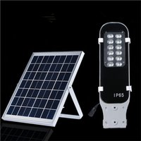 backyard flood lights - New Waterproof IP65 W LED Solar Light Street Lamp LED Solar Street Flood Lights for Backyard Garden Park Road Outdoor Lighting