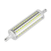 Wholesale R7S Wall Lamps Clear Glass Super Bright SMD W h Wall Lamps with Warm Natural White
