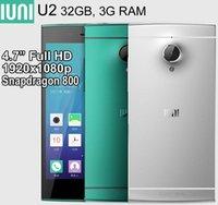 Wholesale IUNI U2 GB GB RAM MP GB GB Snapdragon quot Full HD x1080p Android G Smartphone YD206 U810