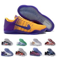 arrival cow boots - With Box Kobe XI Basketball Shoes Men Original New Arrival Sneakers For Sale Cheap Retro Weaving KB11 Boots Size