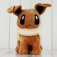 Wholesale EMS cm Anime Cute Poke Eevee Plush Toy Soft Stuffed Plush Doll for Kids Gift