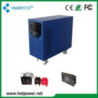 6000W 110V/220V/230V/240VAC 1 Year Best Buy Inverter Battery Charger 24V 230V 6000W with 40A  40A MPPT Solar Charger