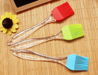Wholesale 100pcs g cm Grill Oil Brushes Tool Heat Resisting Silicone Basting Oil Brush Barbecue Cooking BBQ Tools DIY