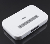 Wholesale NEW Full HD P External HDD Media Player NBOX with VGA SD AV Port With Wired Drawing