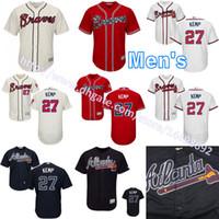 baseball transfers - 2017 New transfer Men s Matt Kemp Jersey Atlanta Braves Jersey Matt Kemp Flexbase Cool Base Stitched Embroidery Baseball Jerseys S XL