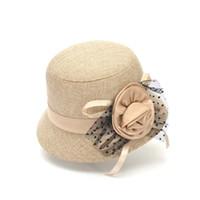 Wholesale 2016 new The new tide in America little hat Qiu dong season wool hat woman felt hat double eaves