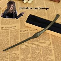 bellatrix lestrange - Creative Cosplay Styles Hogwarts Harry Potter Series Magic Wand New Upgrade Resin with Metal Core Bellatrix Lestrange Magical Wand