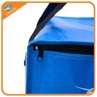 achat en gros de sac de glace de chaleur-Sac à glace de paquet d'isolation non-tissé fait sur commande, tissu d'Oxford 600 sacs de conservation de la chaleur de paquets de glace d420d