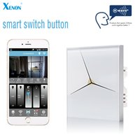 applications lighting control - Xenon wall light switch touch light switch panel V EU Z Wave Smart Home Application wireless remote control light switches