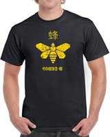 barrel t shirt - Gold Moth t shirt men barrel bee Summer funny Gift printed tee s xl