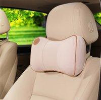 automotive seat foam - 1Pcs Car Phone Headrest Back Cushion Car Neck Pillow Automotive Neck Protection Memory Foam Headrest Seat Supports