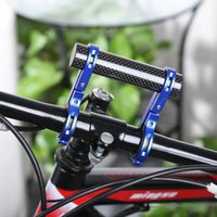 Wholesale Carbon Fiber Extender Holder Road Bicycle Bike Double Handlebar Extension Mount For Extended MM Road Bicycles Colors B