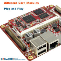 Wholesale AM3354 industrial board som AM335x AM3352 AM3358 embedded board BeagleboneBlack supported Linux Debian Android Angstrom WinCE QT