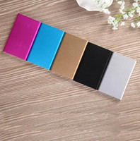 battery charger suppliers - China supplier colorful ultra thin mah capacity portable cellphone charger external battery for all mobile phone