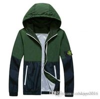 Cheap New Men's Jacket Men's island Coats Bomber Jacket Windbreaker Brand Veste Homme Jeans Tactical Stone Jacket free shipping