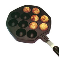 Wholesale Octopus Barbecue Plate Burning Stove With Handle Plate Takoyaki Burning Board Cake Tools Pans